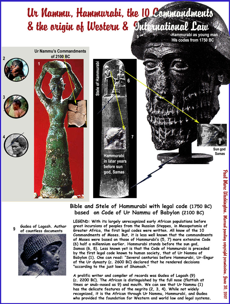 what distinguishes the law code of hammurabi from its predecessors