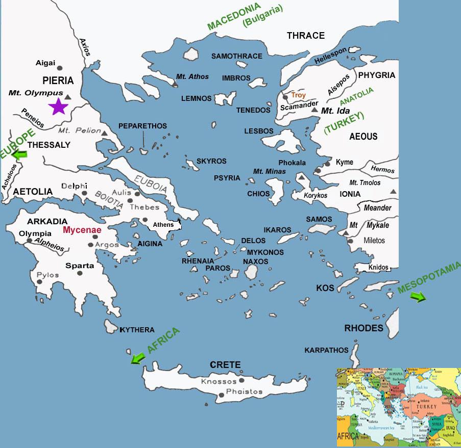 The Mediterranean Sights